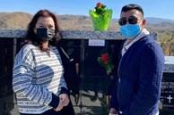 Giữa ồn ào với chồng Thu Phương, Hoài Tâm và ca sĩ Phương Loan đến viếng mộ sau 1 tháng NS Chí Tài an nghỉ