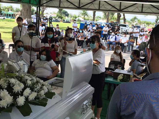 Á hậu Philippines được đưa đến nơi an nghỉ cuối cùng, đã xác định được danh tính các nghi phạm trong căn phòng nơi nạn nhân lui tới nhiều lần vào đêm định mệnh-2