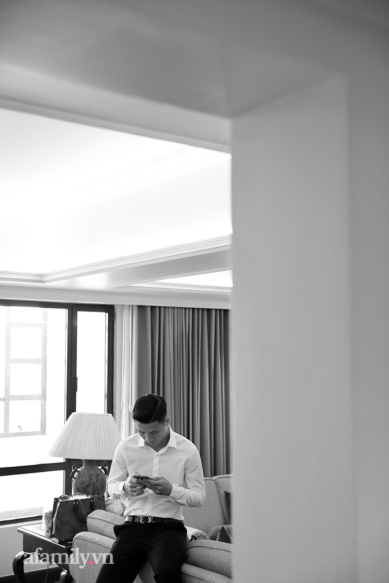 Hình ảnh đầu tiên của cặp đôi Bùi Tiến Dũng - Khánh Linh ở khách sạn tổ chức đám cưới tại Hà Nội, nhan sắc cô dâu xinh đến ngỡ ngàng-5