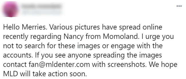 Biến căng: Nancy (MOMOLAND) bị lộ ảnh nhạy cảm khi đang thay đồ biểu diễn, là do fan Việt chụp lén?-3