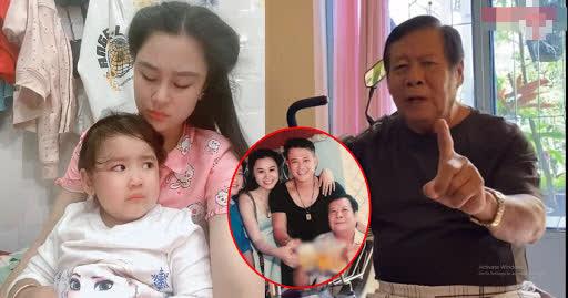 Vợ Vân Quang Long tiết lộ thái độ của bố chồng với cháu nội, không muốn giành thân phận-3