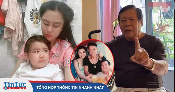 Vợ Vân Quang Long tiết lộ thái độ của bố chồng với cháu nội, không muốn giành th