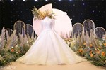 Đám cưới Bùi Tiến Dũng - Khánh Linh, cô dâu cười tươi rạng rỡ dù thời tiết Hà Nội đang rất lạnh-8
