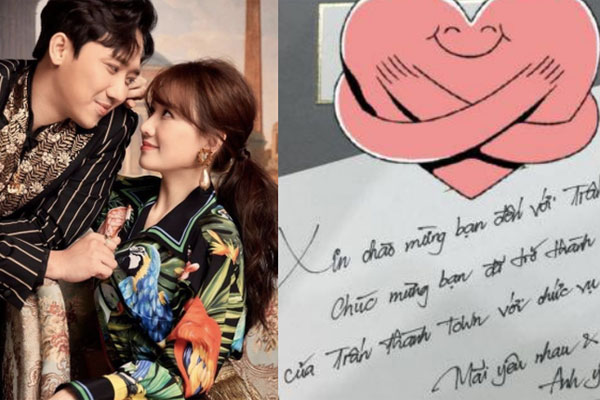 Hari Won hé lộ thư tay 'ngọt hơn đường' Trấn Thành gửi 5 năm trước