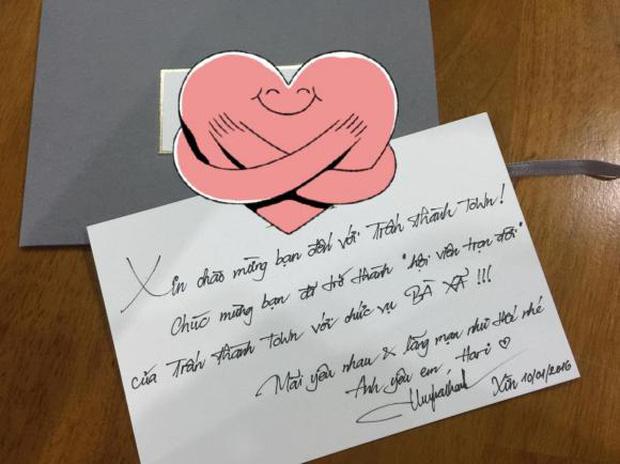 Hari Won hé lộ thư tay ngọt hơn đường Trấn Thành gửi 5 năm trước, hồi mới yêu chưa gì đã xưng hô lộ liễu thế này rồi-1