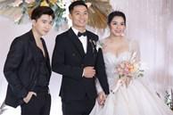 Dàn khách mời dự đám cưới Bùi Tiến Dũng ở Hà Nội