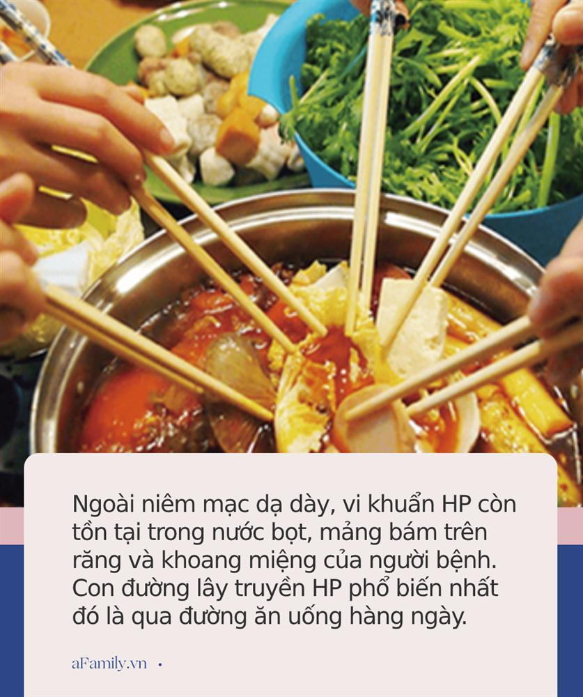 Loại vi khuẩn mà 70% người Việt đang nhiễm: Thuộc nhóm gây ung thư số 1, dễ lây lan cho nhau qua 4 thói quen tai hại khi ăn cơm-4