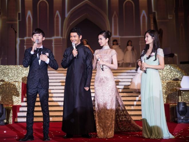 Ba đôi vợ chồng dự lễ cưới của Huỳnh Hiểu Minh đều chia tay ồn ào-1