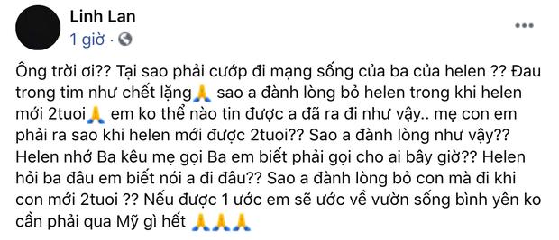 Vợ Vân Quang Long có động thái đầu tiên, ngăn chặn netizen tấn công giữa lùm xùm bị tố xúc phạm chồng và gia đình-3