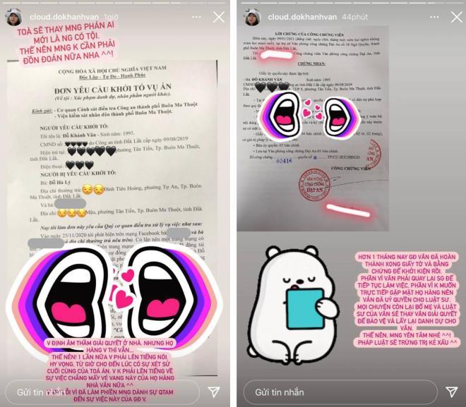 Khánh Vân phim Mắt biếc viết đơn kiện người thân-2