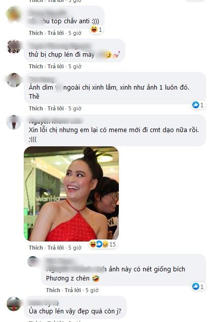 Hoàng Thùy Linh lộ vai u thịp bắp, make-up sến súa trong ảnh dìm hàng-6