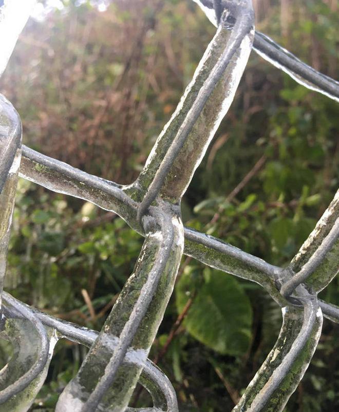Nhiều nơi ở Nghệ An xuất hiện băng giá, cây cối, vật dụng đều bị đóng băng-11