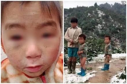 Ứa nước mắt hình ảnh em bé vùng cao Hà Giang mắt đỏ ngầu dưới cái lạnh thấu xương, băng tuyết đâu chỉ có vẻ đẹp hào nhoáng vạn người mê!