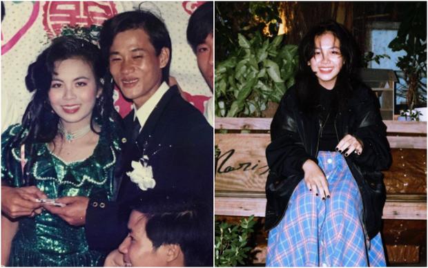 Khoe ảnh cưới khi mẹ vừa tròn 18 tuổi, cô gái bị ghen nhẹ vì được hưởng trọn nhan sắc cực phẩm-1