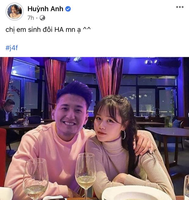 Chia tay rồi nhưng Huỳnh Anh bất ngờ đăng ảnh cũ với Quang Hải, tuy nhiên lại sửa một chi tiết đặc biệt-2