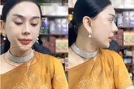 Lâm Khánh Chi lộ vùng cổ nhăn nheo, chi chít nốt sần khiến ai nấy rùng mình