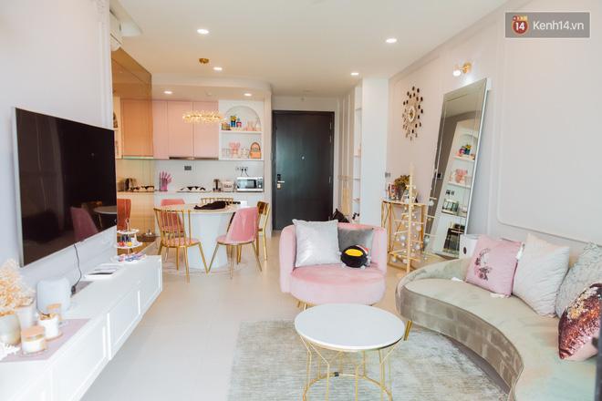 Thăm căn hộ màu hồng của Ngọc Thảo: Nội thất tự mua hết 850 triệu, xuất hiện nhiều nhân vật lạ ở chung-6