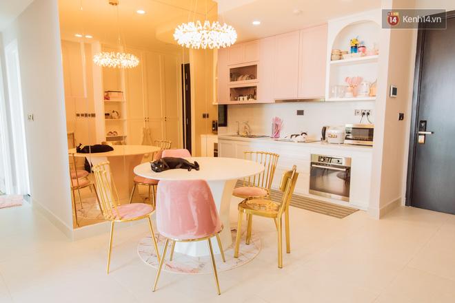 Thăm căn hộ màu hồng của Ngọc Thảo: Nội thất tự mua hết 850 triệu, xuất hiện nhiều nhân vật lạ ở chung-16