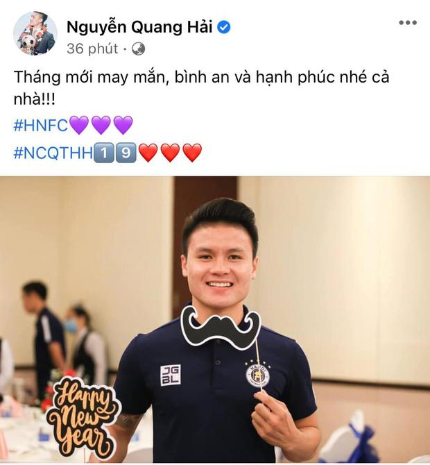Hết bị diễn viên Huỳnh Anh đến tình cũ thi nhau cà khịa, Quang Hải có động thái đầu tiên trên MXH-1