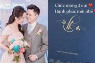 HOT: Lộ diện thiệp cưới của cặp đôi Phan Thành - Primmy Trương, sắp có thêm một siêu đám cưới mở màn cho năm 2021?