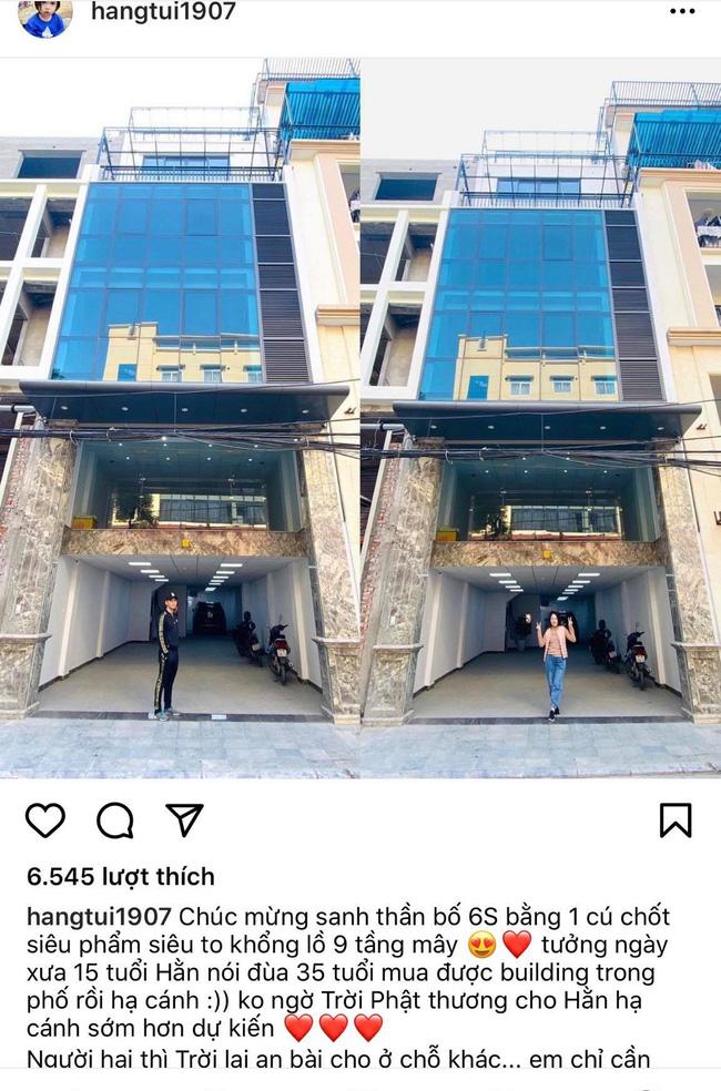 Hằng Túi mừng sinh nhật chồng kiêm chốt sổ năm cũ bằng chiếc building siêu to khổng lồ ngay giữa trung tâm Hà Nội-1