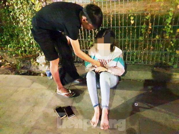Cô gái bị cướp xe máy sau khi cãi nhau với bạn trai-1