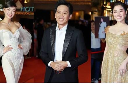 Thảm đỏ lễ trao giải Mai Vàng 26: Nghệ sĩ Hoài Linh gượng cười sau nhiều biến cố, Minh Hằng khoe vòng 1 căng đầy gợi cảm
