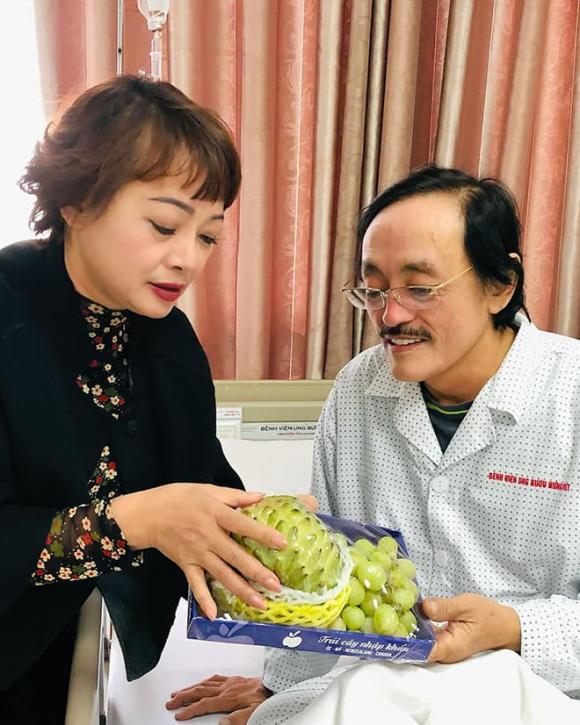 Giang Còi có khối u ở họng, đang điều trị ở Bệnh viện Ung bướu-2
