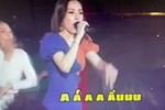 """Vẫn """"sốc"""" khi nghe Chi Pu hát live, chênh phô không đúng nốt nào, giao lưu với fan mà lạc cả giọng"""