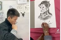 Anh chăn bò Soytiet trổ tài vẽ tranh khiến dân tình mắt tròn mắt dẹt, nhân vật trong tranh cực kì đặc biệt