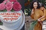 Xót xa khi nhìn thấy bánh kem con gái chọn mừng sinh nhật Mai Phương
