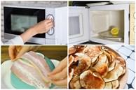 Đừng chỉ dùng lò vi sóng để hâm nóng thức ăn bởi nó còn có công dụng tuyệt vời như lột vỏ cà chua, vắt chanh... nữa đấy!