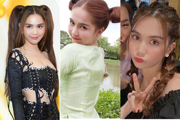 3 kiểu tóc hack tuổi' giúp Ngọc Trinh nhìn trẻ như gái 18