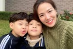 Đẻ 2 con trai như Đan Lê đúng là mát lòng mát dạ, vừa học giỏi lại tình cảm, khéo ăn nói khiến mẹ tan chảy