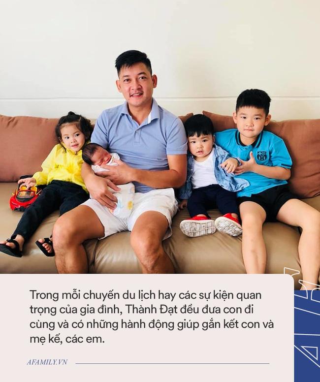 Có đến 3 con riêng với Hải Băng nhưng cách Thành Đạt đối xử với con trai của vợ cũ khiến nhiều người phải thốt lời khen-4
