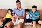 Có đến 3 con riêng với Hải Băng nhưng cách Thành Đạt đối xử với con trai của vợ cũ khiến nhiều người phải thốt lời khen