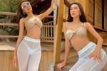 Tường Linh post ảnh phô ba vòng nóng bỏng, choáng nhất là kiểu quần xuyên thấu mặc như không