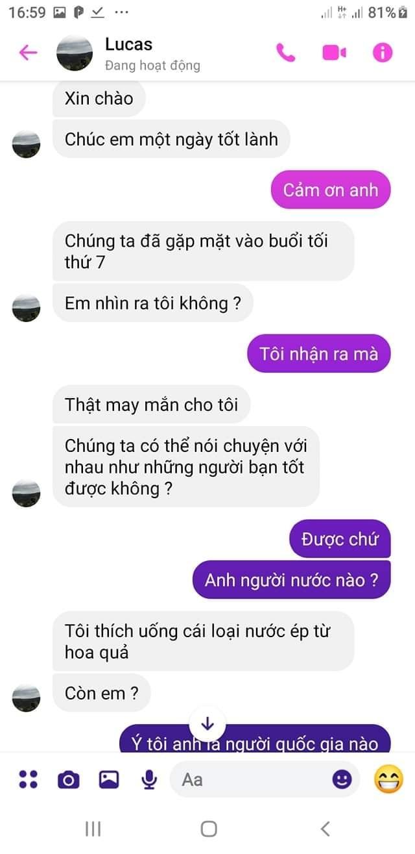 Cười bò bởi cách tán gái như văn mẫu xửa xưa của trai Tây, tiếng Việt sặc mùi Google dịch nhưng dân mạng vẫn xuýt xoa vì cute quá-2
