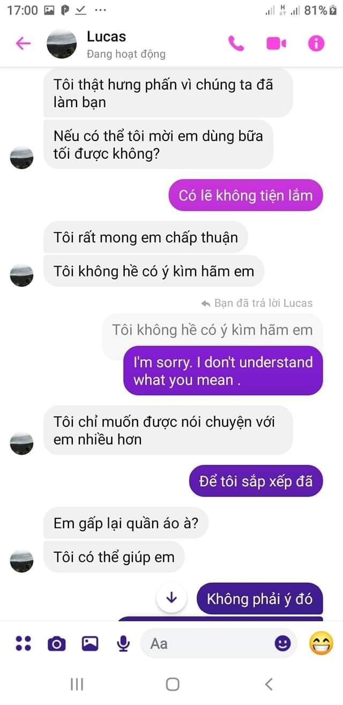 Cười bò bởi cách tán gái như văn mẫu xửa xưa của trai Tây, tiếng Việt sặc mùi Google dịch nhưng dân mạng vẫn xuýt xoa vì cute quá-5