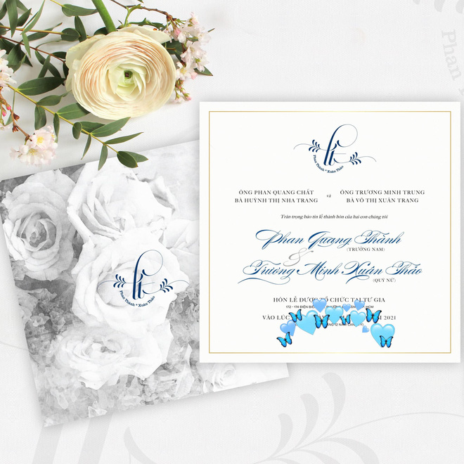 Tổng giám đốc Phan Thành tự tay khoe thiệp mời và hé lộ ảnh cưới đẹp xỉu, dân tình nôn nóng đếm ngược tới giờ G-7