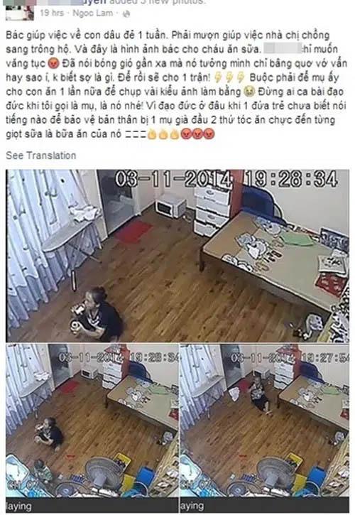 Lắp camera giấu kín, mẹ trẻ sốc nặng phát hiện nữ giúp việc tu ừng ực bình sữa của con rồi nói dối là bé đã uống hết!-3