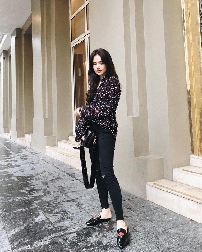 Ngoài Hà Tăng, phu nhân TGĐ tập đoàn đầu tư Cocobay cũng là thánh diện quần skinny với loạt outfit khoe dáng siêu nuột-10