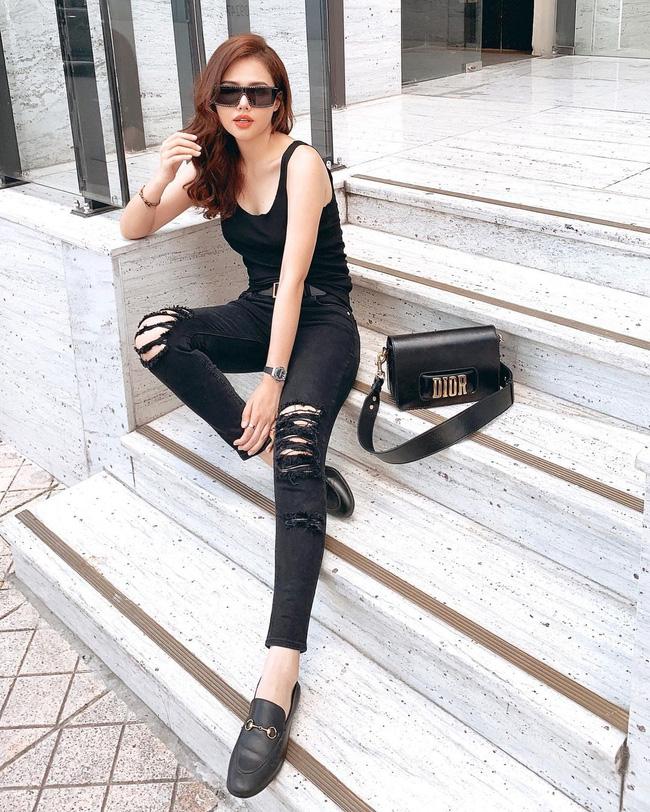 Ngoài Hà Tăng, phu nhân TGĐ tập đoàn đầu tư Cocobay cũng là thánh diện quần skinny với loạt outfit khoe dáng siêu nuột-5