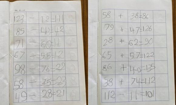 Mới 5 tuổi, con trai Thu Minh đã biết đọc truyện và làm toán thành thạo của bé 10 tuổi-2