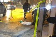 Vụ thai nhi trong chiếc túi đen cạnh thùng rác bị ô tô cán qua: Trước khi được phát hiện, có người đốt vàng mã rồi bỏ đi