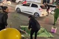 Hà Nội: Cụ bà bị xe máy tông tử vong tại chỗ khi đang qua đường