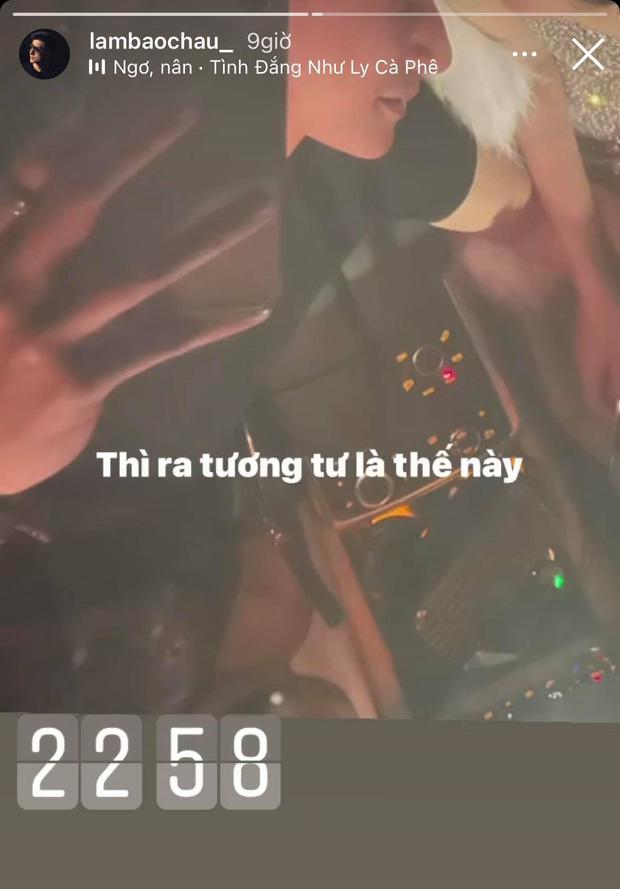 """Lâm Bảo Châu đăng ảnh nắm tay và tựa đầu vào ai kia"""", netizen soi ngay ra chi tiết chứng minh đó là Lệ Quyên-1"""