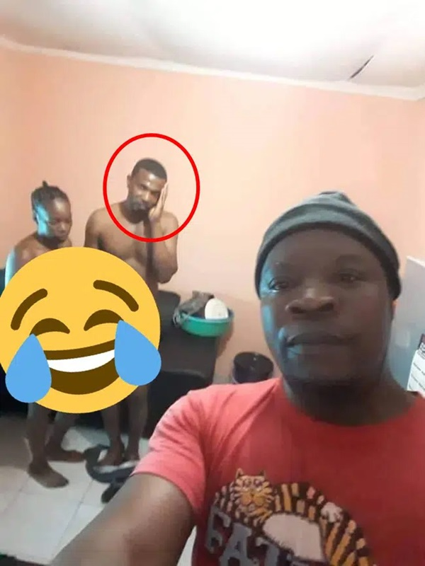 Bị vợ cắm sừng, người đàn ông thản nhiên chụp selfie tại hiện trường đánh ghen, màn tạo dáng của kẻ thứ 3 là không ngờ nhất-2