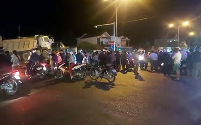 Thi thể nạn nhân bị xe container kéo đi xa khỏi hiện trường khoảng 60km sau tai nạn-1