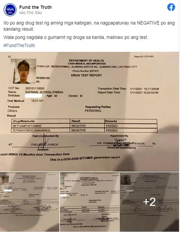 Công bố kết quả xét nghiệm ma túy của 5 nghi phạm liên quan đến cái chết của Á hậu Philippines-1